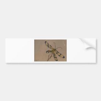 dragon fly 1990 bumper sticker