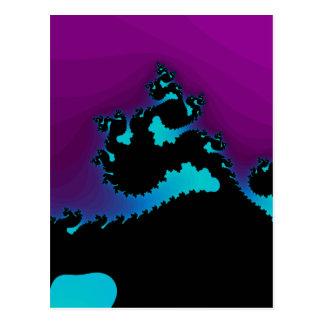 Dragon Fractal: Postcard