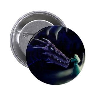 dragon friend fantasy artwork pinback buttons