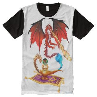 Dragon Genie All-Over Print T-Shirt