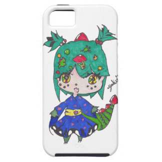 dragon girl edited iPhone 5 covers