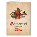 Dragon Graduation Congratulations Cards