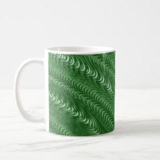 Dragon Green Basic White Mug