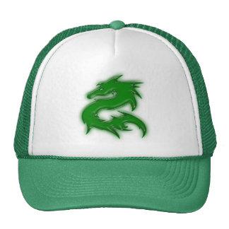 Dragon green mesh hat