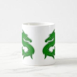 Dragon green mugs