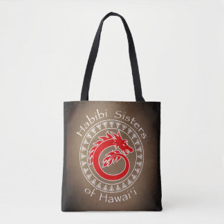 Dragon Habibi Sisters Tote Bag