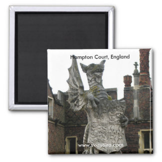 Dragon, Hampton Court, England Magnet
