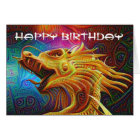 Dragon Happy Birthday card