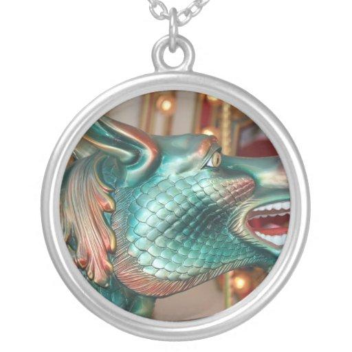 dragon head carousel ride fair image custom jewelry