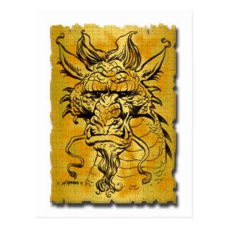 Dragon Head copy Postcard
