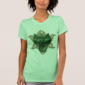 Dragon Head - Green Shirt