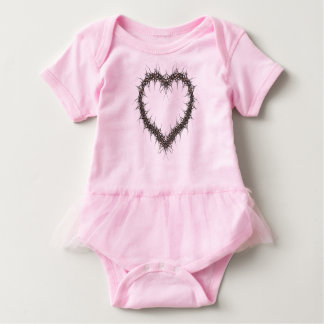 dragon heart baby bodysuit