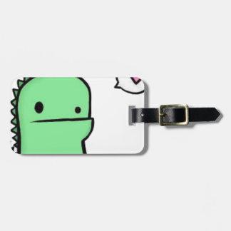 Dragon Heart Luggage Tag