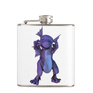 Dragon Hip Flask