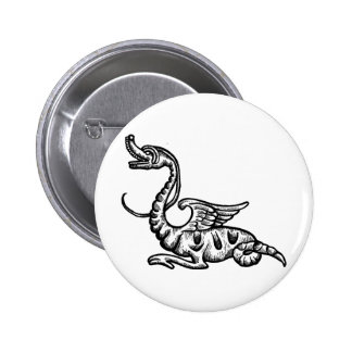 Dragon Image 1 Pinback Buttons