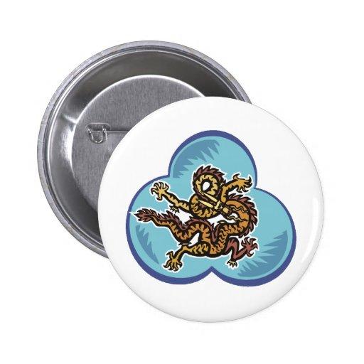 Dragon Image 43 Pinback Button