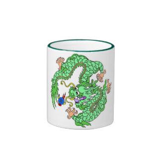 dragon,imperial,god,goddess,lord,china,chinese ringer mug
