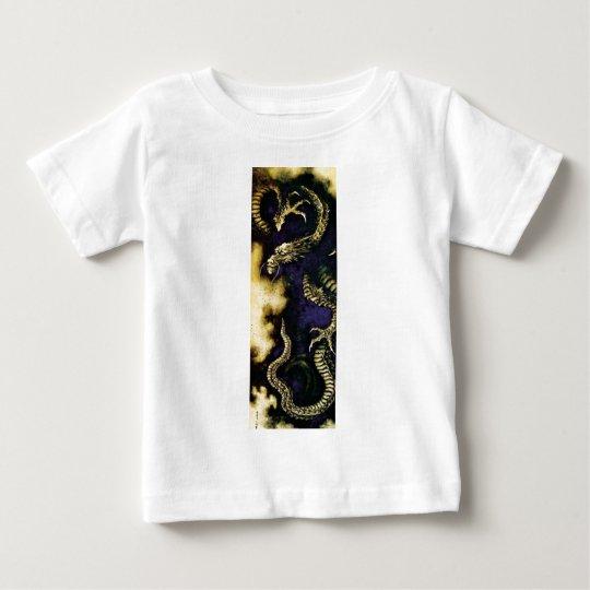 Dragon in a Rain Cloud Baby T-Shirt