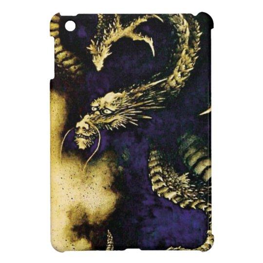 Dragon in a Rain Cloud iPad Mini Covers