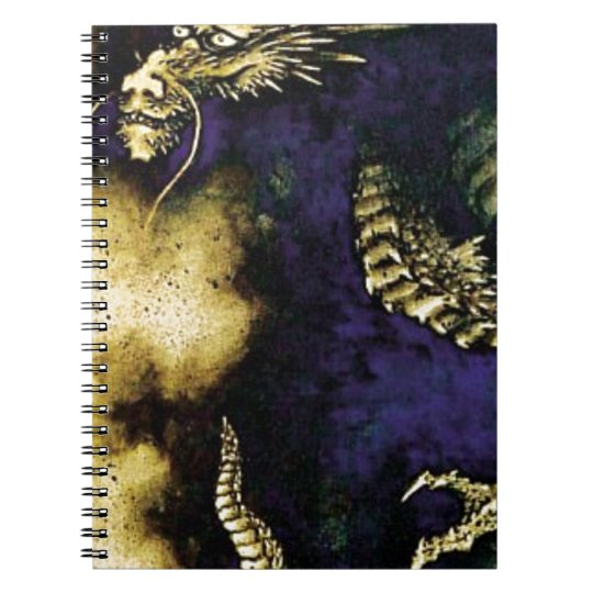 Dragon in a Rain Cloud Notebook