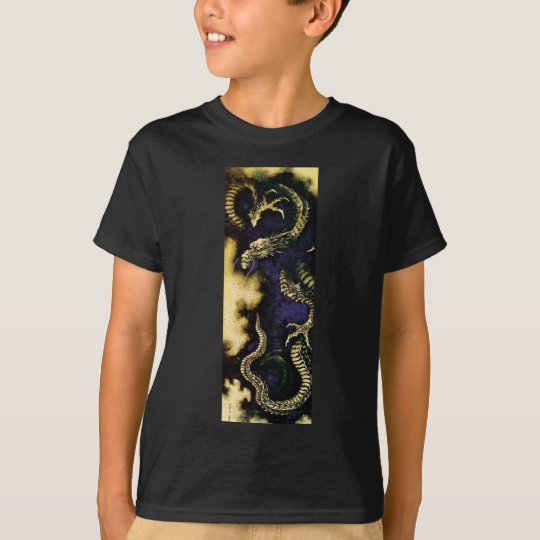 Dragon in a Rain Cloud T-Shirt