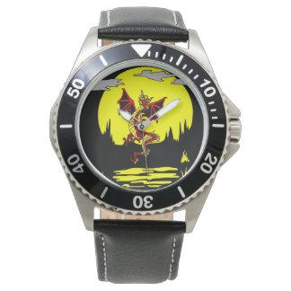 Dragon In Eerie Moonlight Watch