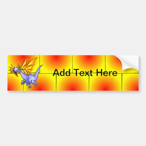 Dragon In Flight Bumper Stickers