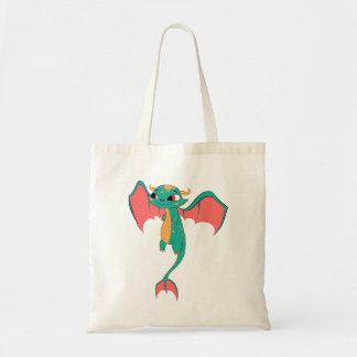 Dragon in flight, Magical Creature Budget Tote Bag
