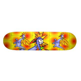 Dragon In Flight Custom Skate Board