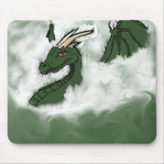 Dragon in the Clouds Mousepad