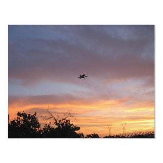 Dragon in the Sky 11 Cm X 14 Cm Invitation Card