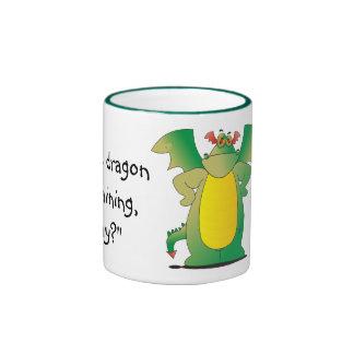 Dragon In Training Ringer Mug