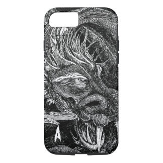 Dragon 'initial' iPhone 7 barely there case