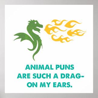 Dragon Joke Print