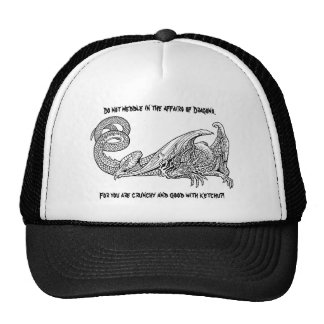 Dragon Ketchup 2 Mesh Hat