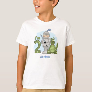 Dragon Knight 2nd Birthday Personalized T-Shirt