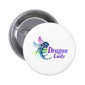 Dragon Lady 6 Cm Round Badge