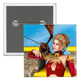 Dragon Lady Pin