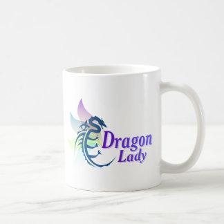 Dragon Lady Basic White Mug