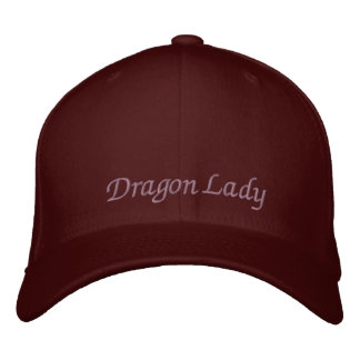 Dragon Lady Embroidered Baseball Caps