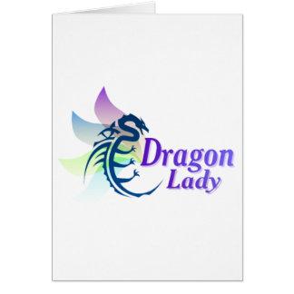 Dragon Lady Greeting Card
