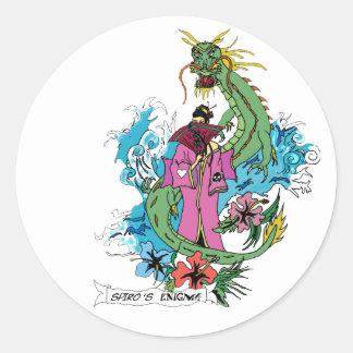 Dragon Lady - Sticker