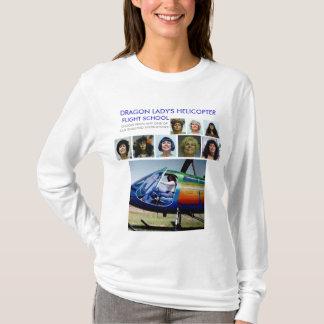 DRAGON LADY'S FLIGHT SCHOOL ADVERTISEMENT 7 T-Shirt