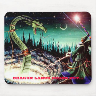 DRAGON LANCE BURNS HOT... MOUSE PAD