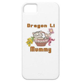 Dragon Li Cat Mom iPhone 5 Covers