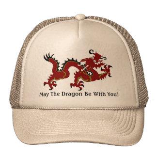 Dragon Luck Mall Trucker Hats