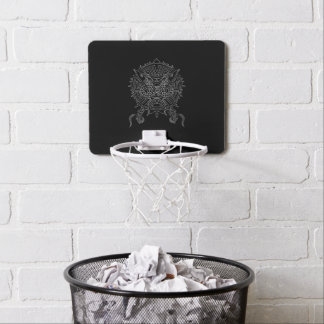 Dragon Mandala Tattoo Design Mini Basketball Hoop