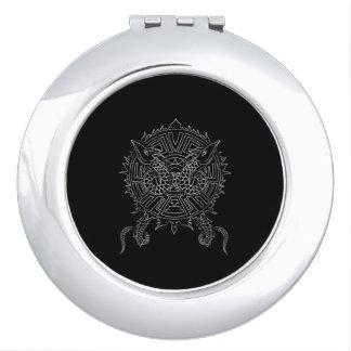 Dragon Mandala Tattoo Design Vanity Mirrors