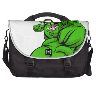 Dragon mascot fighting commuter bags