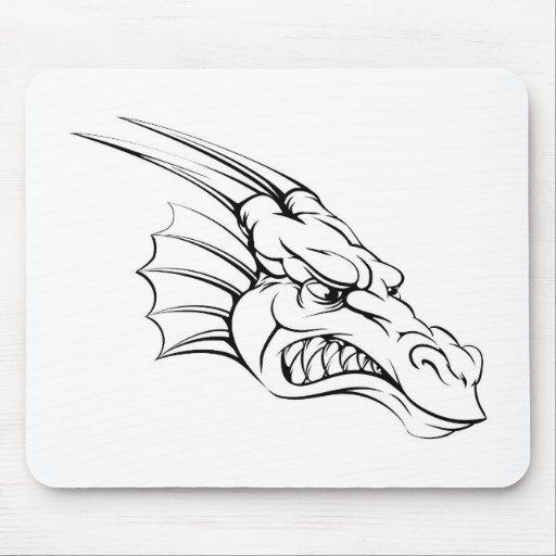 Dragon mascot mousemat